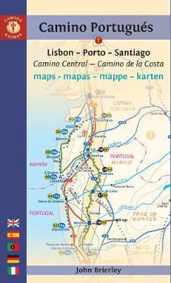 Camino Portugues Maps - Mapas - Mappe - Karten: Lisboa - Porto - Santiago (Paperback)