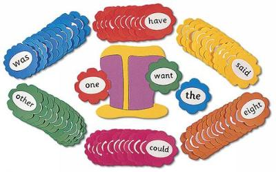 Jolly Phonics Tricky Word Wall Flowers: in Print Letters (Poster)