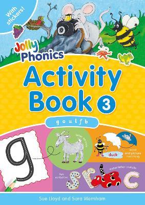 Jolly Phonics Activity Book 3: in Precursive Letters (British English edition) - Jolly Phonics: Activity Book (Paperback)