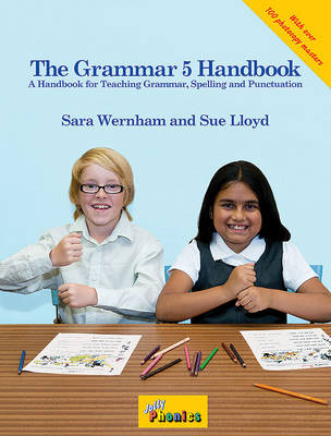 The Grammar 5 Handbook: in Precursive Letters (BE) (Spiral bound)