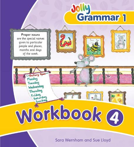 Grammar 1 Workbook 4: In Precursive Letters (British English edition) - Grammar 1 Workbooks 1-6 6 (Paperback)