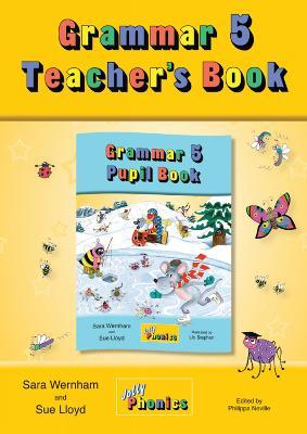 Grammar 5 Teacher's Book: In Precursive Letters (British English edition) (Paperback)