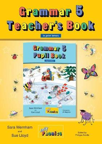 Grammar 5 Teacher's Book: In Print Letters (British English edition) (Paperback)