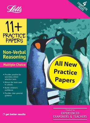 Multiple Choice Non-Verbal Reasoning: Practice Test Papers - Letts 11+ Success