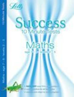 Maths Age 7-8: 10-Minute Tests - Letts Key Stage 2 Success (Paperback)