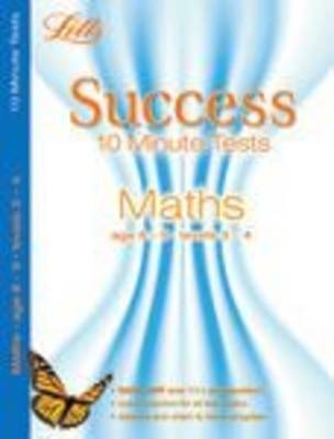 Maths Age 8-9 - Letts Success 10 Minute Tests (Paperback)