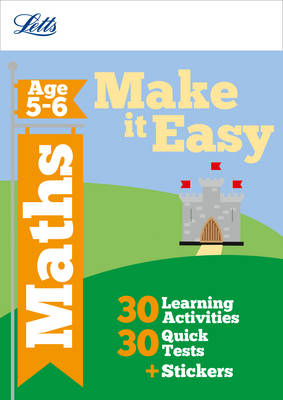 Maths Age 5-6 - Letts Make it Easy Complete Editions (Paperback)