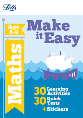 Maths Age 8-9 - Letts Make it Easy Complete Editions (Paperback)