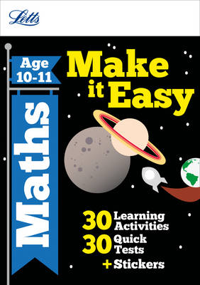 Maths Age 10-11 - Letts Make it Easy Complete Editions (Paperback)