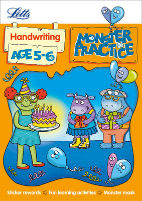 Handwriting Age 5-6 - Letts Monster Practice (Paperback)