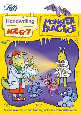 Handwriting Age 6-7 - Letts Monster Practice (Paperback)