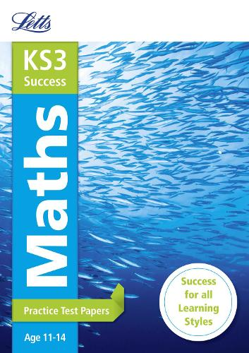 KS3 Maths Practice Test Papers - Letts KS3 Revision Success (Paperback)