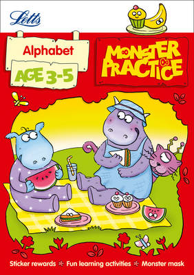 Alphabet Age 3-5 - Letts Monster Practice (Paperback)