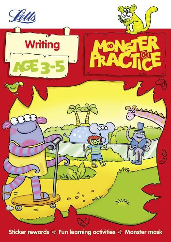 Writing Age 3-5 - Letts Monster Practice (Paperback)
