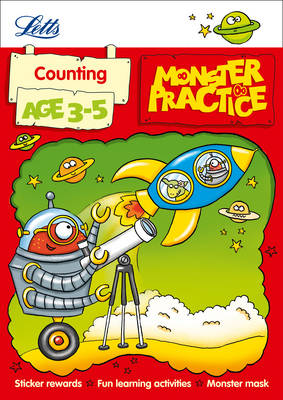 Counting Age 3-5 - Letts Monster Practice (Paperback)