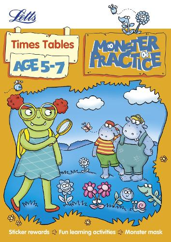 Times Tables Age 5-7 - Letts Monster Practice
