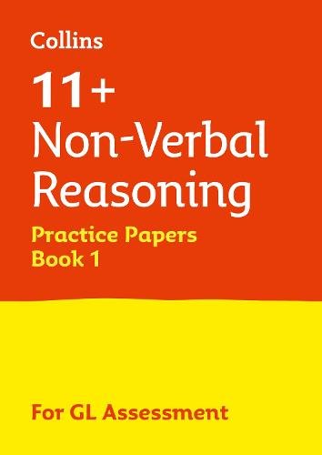 11+ Non-Verbal Reasoning Practice Test Papers - Multiple-Choice: for the GL Assessment Tests - Letts 11+ Success (Paperback)