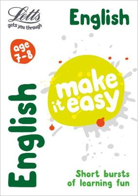 English Age 7-8 - Letts Make It Easy (Paperback)