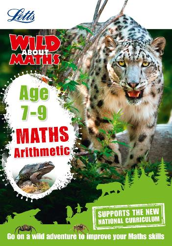 Maths - Arithmetic Age 7-9 - Letts Wild About (Paperback)
