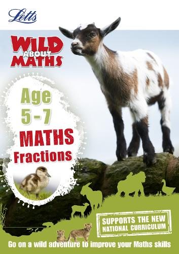 Maths - Fractions Age 5-7 - Letts Wild About (Paperback)