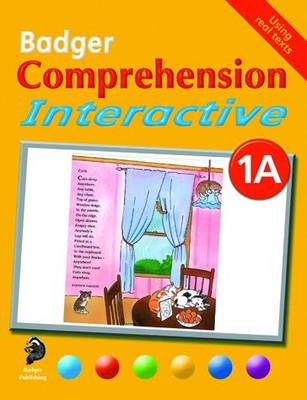 Badger Comprehension Interactive KS1: Pupil Book 1A - Badger Comprehension Interactive (Paperback)