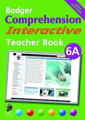 Badger Comprehension Interactive KS2: Teacher Book 6A - Badger Comprehension Interactive (Spiral bound)