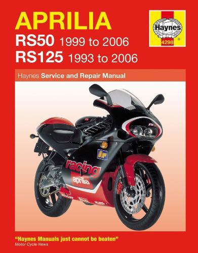 Aprilia Rs50 (99 - 06) & Rs125 (93 - 06) (Paperback)