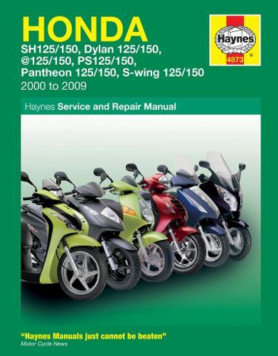 Honda 125 Scooters (Sh, Ses, Nes, Pes & Fes 125) (00 - 09) (Paperback)