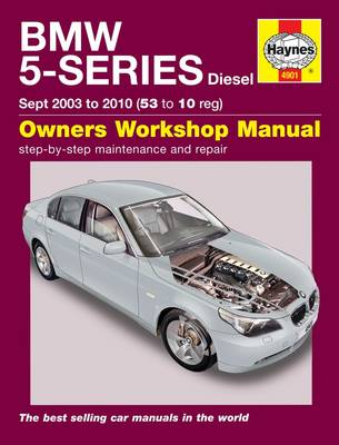 BMW 5-Series Diesel Service and Repair Manual: 2003 to 2010 - Haynes Service and Repair Manuals (Hardback)