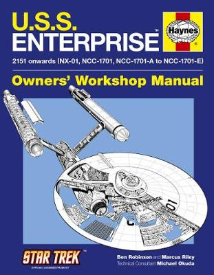 U.S.S. Enterprise Manual (Hardback)