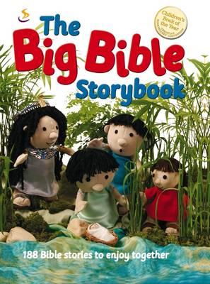 The Big Bible Storybook: 188 Bible Stories to Enjoy Together - The Bible storybook range (Hardback)