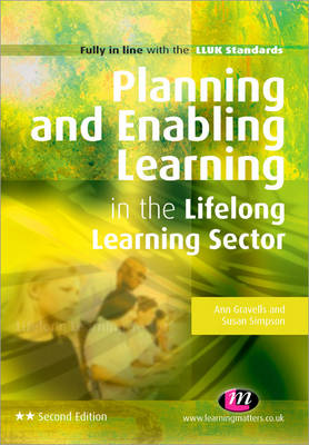 Planning and Enabling Learning in the Lifelong Learning Sector - Further Education and Skills (Paperback)