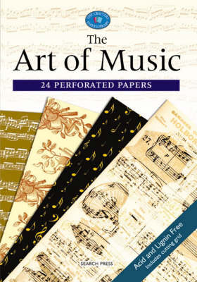 Crafter's Paper Library: Art of Music - Crafter's Paper Library (Paperback)