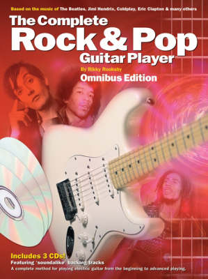 Complete Rock And Pop Guitar Player Omnibus Edition (Book And 3CDs) (Paperback)