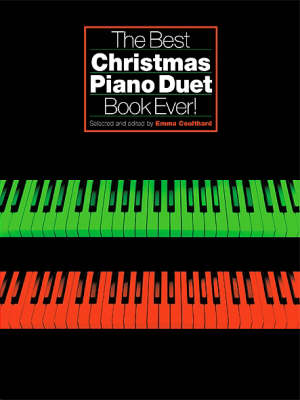 The Best Christmas Piano Duet Book Ever] (Paperback)