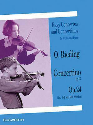 Oskar Rieding: Concertino In G Op.24 (Violin/Piano) (Paperback)