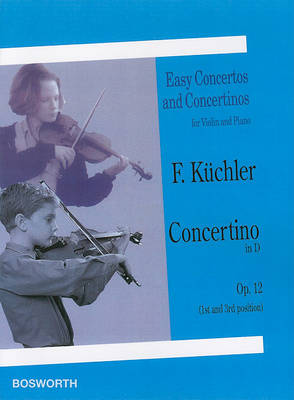 Ferdinand Kuchler: Concertino In D Op.12 (Paperback)