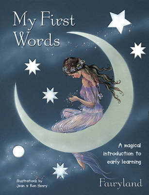 My First Words: A Magical Introduction to Early Learning - Sparkly Books S. (Hardback)