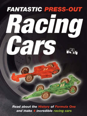 Racing Cars - Press-out & Play (Paperback)