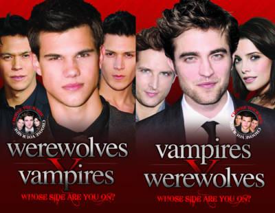 Vampires V Werewolves (Paperback)
