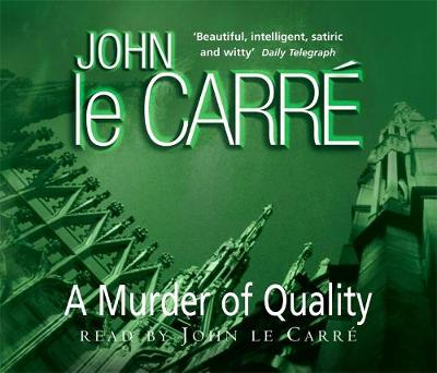 A Murder of Quality (CD-Audio)