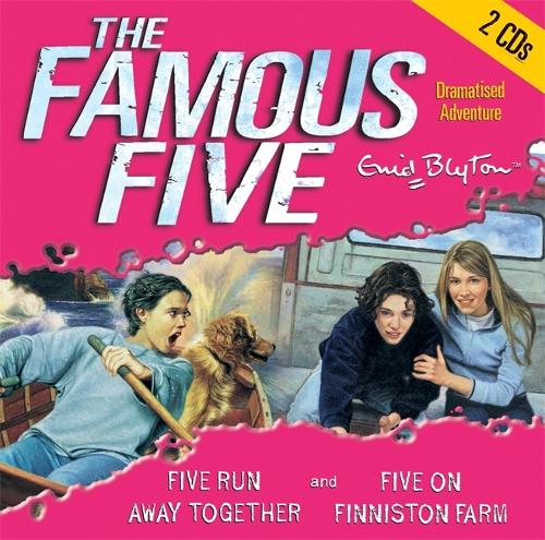 Famous Five: Five Run Away Together & Five on Finniston Farm - Famous Five (CD-Audio)
