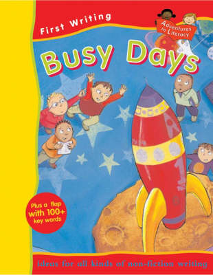 FIRST WRITING BUSY DAYS (Paperback)