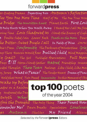Forward Press Top 100 Poets of the Year 2004 (Paperback)