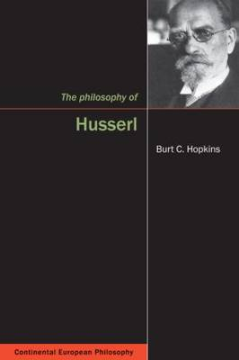 The Philosophy of Husserl (Hardback)