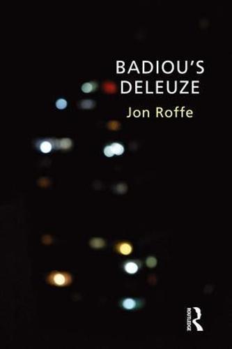 Badiou's Deleuze (Hardback)