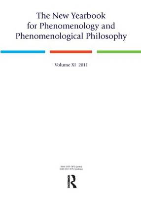 The New Yearbook for Phenomenology and Phenomenological Philosophy: Volume 11 (Paperback)