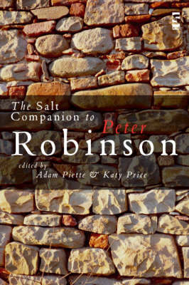 The Salt Companion to Peter Robinson (Paperback)