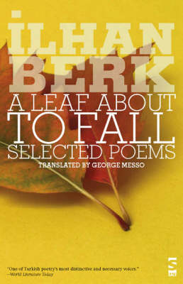 A Leaf About to Fall: Selected Poems - Salt Modern Poets (Paperback)
