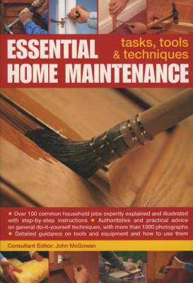 Essential Home Maintenance: Tasks, Tools and Techniques (Paperback)